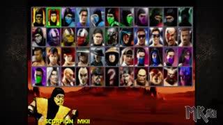 گیم پلی بازی مورتال کمبت سه گانه بازسازی Mortal Kombat Trilogy Remake برای کامپیوتر