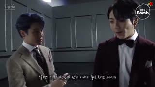 وقتی جانگ کوک چیزی از حرفای جیمین نمیفهمه