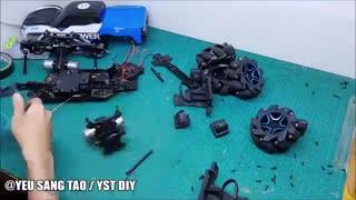 مونتاژ قطعات ماشین کنترلی دریفت h1227/ایستگاه پرواز