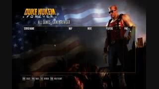 Duke Nukem Forever شبکه لن