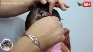 آموزش مدل مو بچه گانه دختر برای موی کوتاه- مومیس مشاور و مرجع تخصصی مو