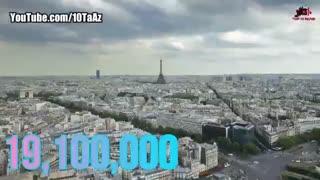 ۱۰ تا از پر بازدیدترین و محبوب ترین شهرهای جهان در سال ۲۰۱۹