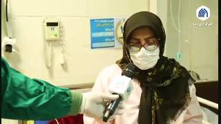 دقایقی با بیماران مبتلا به کرونا