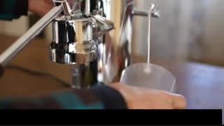 قهوه ای دلنشین با دستگاه لاپاونی رومانتیک