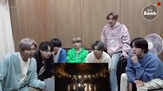 (BANGTAN BOMB]BTS 'Black Swan' MV reaction BTS(방탄소년단]