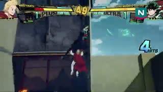 گیمپلی بازی My Hero Ones Justice 2