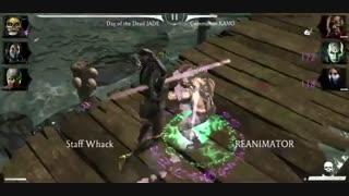 Challenge Kraken Reptile In Mortal Kombat Mobile - Final Tower Hard Mode