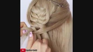 آموزش مدل مو دخترانه بافت گرد- مومیس مشاور و مرجع تخصصی مو