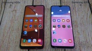 مقایسه گوشی های سامسونگ گلکسی A20S و A30S