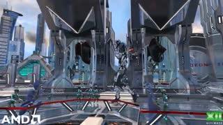 ویدئوی AMD از فناوری Microsoft DirectX Raytracing