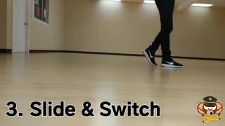 آموزش حرکت پا#3