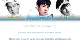[لیریک] آهنگ 'BTS Cypher PT.1' از RM و J-Hope و Suga عضو BTS (방탄소년단)