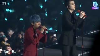 اجرای اهنگ day after day از اکسو در کنسرت سئول