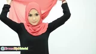 روش های بستن شال و روسری - 1