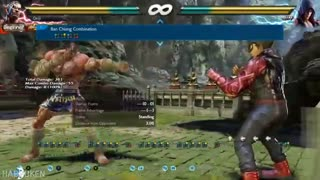 بررسی کامل فارسی حرکات شخصیت فاکومرام در Tekken7- بخش اول