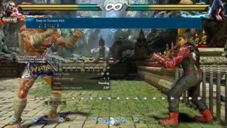 بررسی کامل فارسی حرکات شخصیت فاکومرام در Tekken7- بخش دوم
