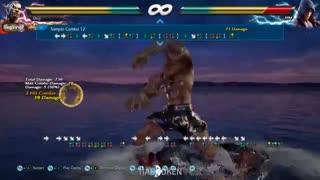 بررسی فارسی نمونه کومبوهای فاکومرام در Tekken7