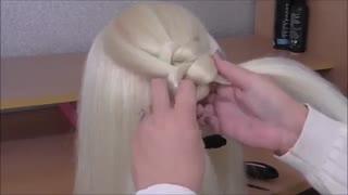 آموزش مدل مو دخترانه بافت در ۲ تکنیک- مومیس مشاور و مرجع تخصصی مو