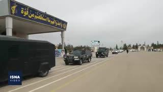 رزمایش پدافند میکروبی سپاه برای گندزدایی و ضدعفونی شهرها