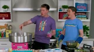 اینا عشقای منن نگاشون کنین. How To Make The World's Largest DIY Real vs Gummy Food At Home Challenge