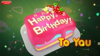ویدئوی تبریک تولد