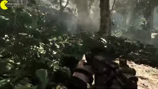 Call of duty ghost Gameplay After aircraft Fall in the Jungle tehrancdshop.com