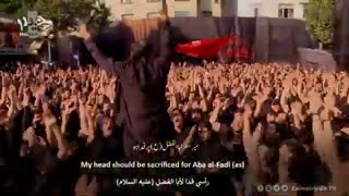 مریضم و دوام ابالفضله (یه قلب مبتلا) محمود کریمی | الترجمة العربیة | English Urdu Subtitles