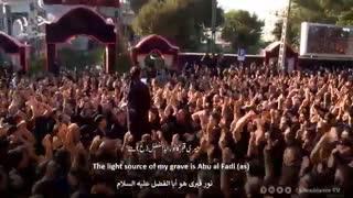 مریضم و دوام ابالفضله (یه قلب مبتلا) محمود کریمی   مترجم   English Urdu Subtitles