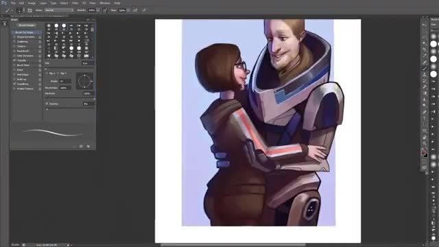 آموزش نقاشی دیجیتال پوستر مناسب کمیک استریپ