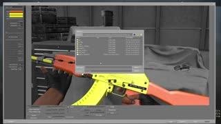 [ReMake] How to make guns for CS:GO workshop [part 1] Spray paint!