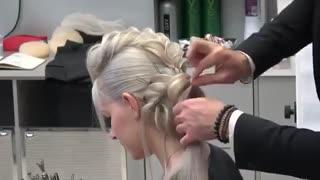 آموزش مدل مو دخترانه تکنیک پیچاندن مو- مومیس مشاور و مرجع تخصصی مو