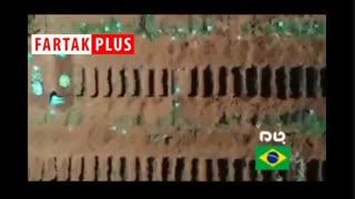 اتفاقی وحشتناک در شهر سائوپائولوی برزیل بخاطر کروناویروس