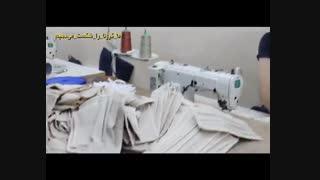 اهدای ماسک ضد کرونا بین نیازمندان در مرکز نیکوکاری اسلام آباد کرج