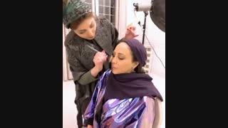 آموزش حرفه ای گریم و آرایش _ میکاپ آرتیست یگانه قبادی