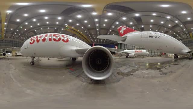 گردش در فرودگاه زوریخ - 360 درجه